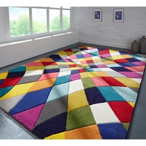 Covor Spectrum Rhumba, Flair Rugs, 160 x 230 cm, 100% polipropilena, multicolor