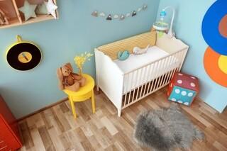 Saltea copii Baby Sleepy Bonnell White 60x120 cm