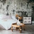 Comoda cu 4 sertare si roti, Sweet Home, Creaciones Meng, 55x25x52 cm, lemn de paulownia, alb