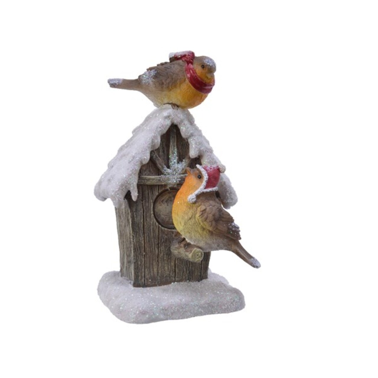 Decoratiune, Decoris, Birdhouse, 10x10x17.5 cm, Multicolor