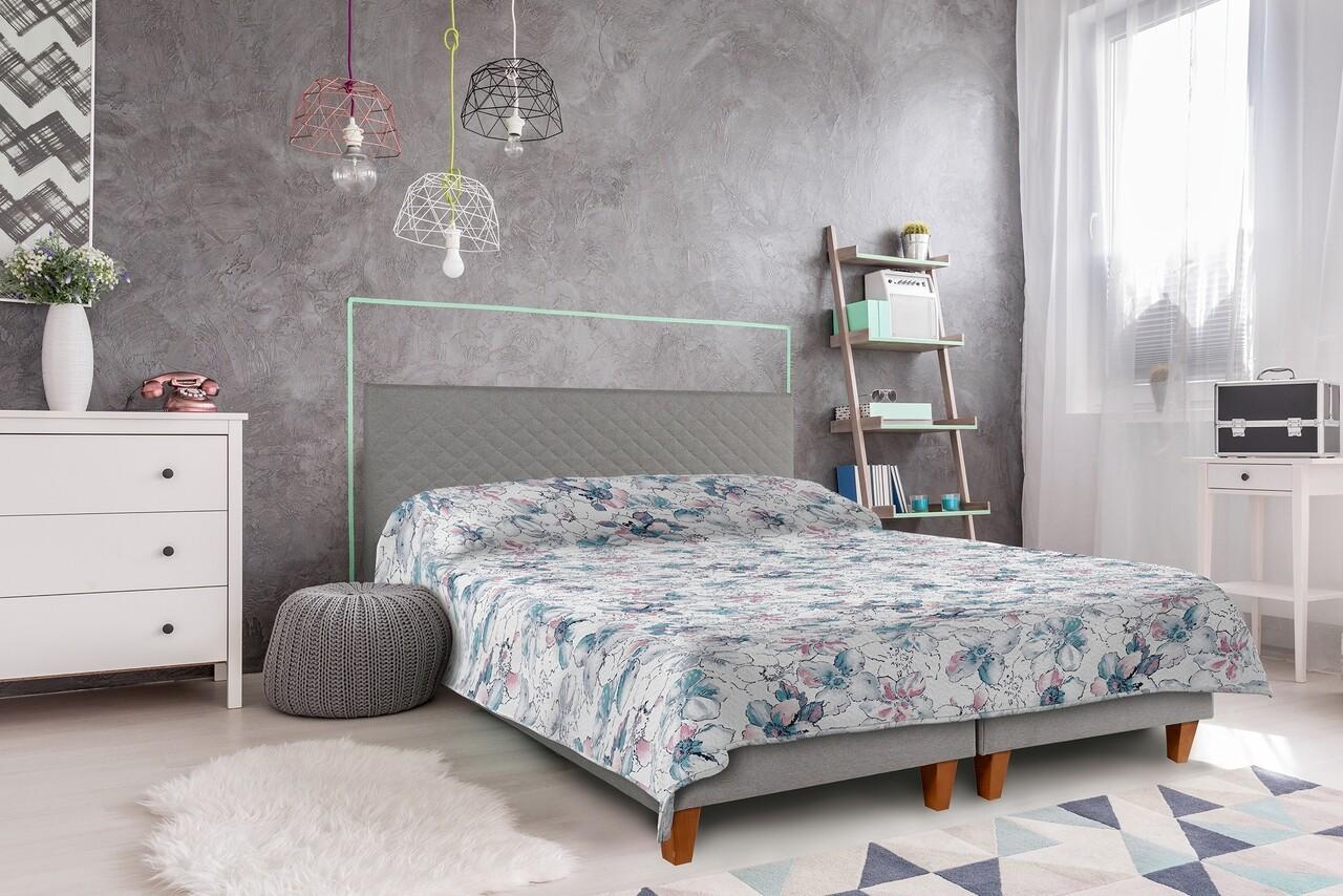 Cuvertura matlasata 2 fete Alcam, 210x220 cm, Story