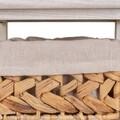 Comoda cu 5 sertare Creaciones Meng, 35x25x87.5 cm, lemn de paulownia/zambila de apa