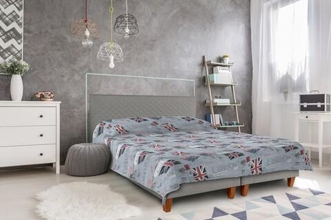 Cuvertura matlasata 2 fete Alcam, 210x220 cm, London