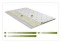 Topper saltea Confort Eucalyptus, Green Future, 160x200 cm