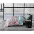 Lenjerie de pat pentru doua persoane Butterflies, Royal Textile, flanel