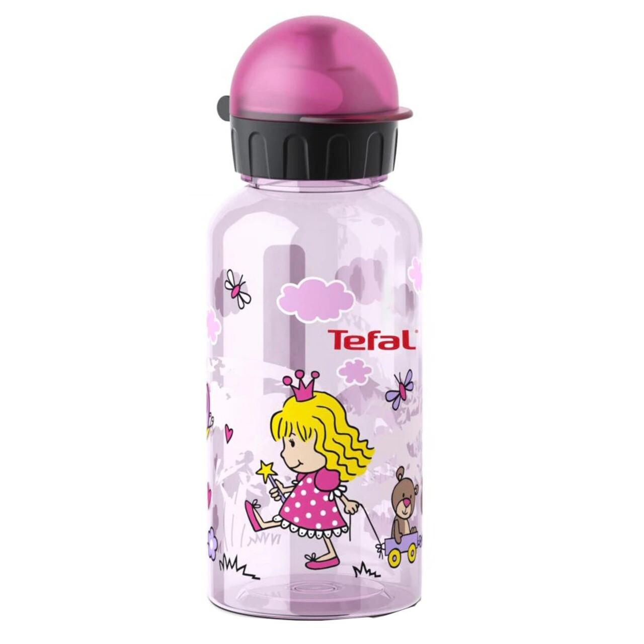 Sticla apa pentru copii, Tefal, Tritan, Princess, 0.4 L, plastic