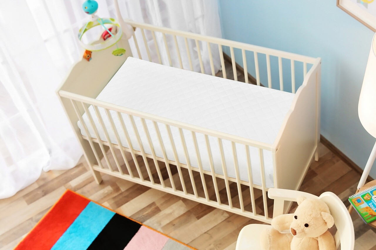 Saltea copii, Bebeluca, Confort, 60 x 120 cm, husa detasabila