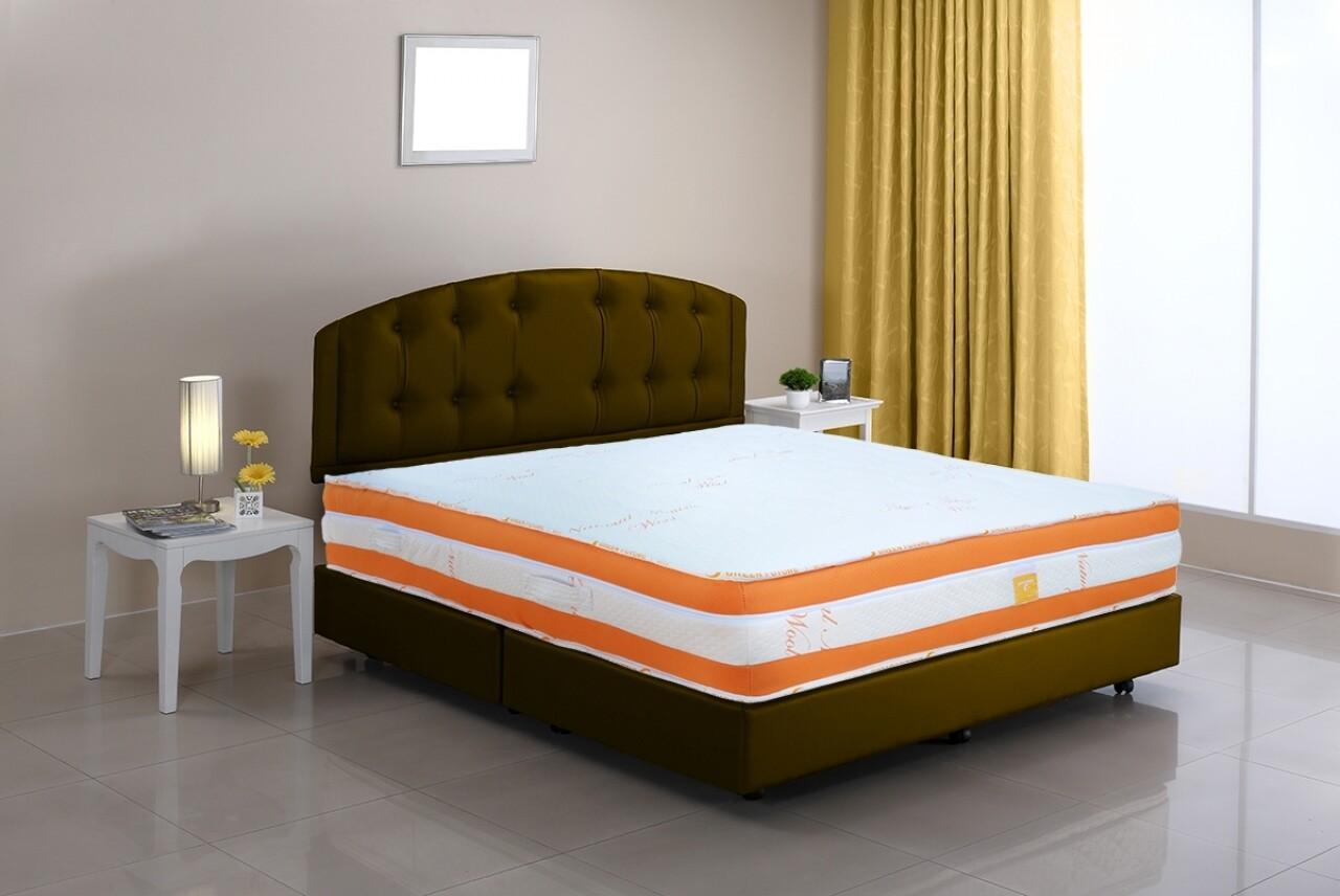 Saltea Green Future Wool 200x200 cm - Lână Merinos