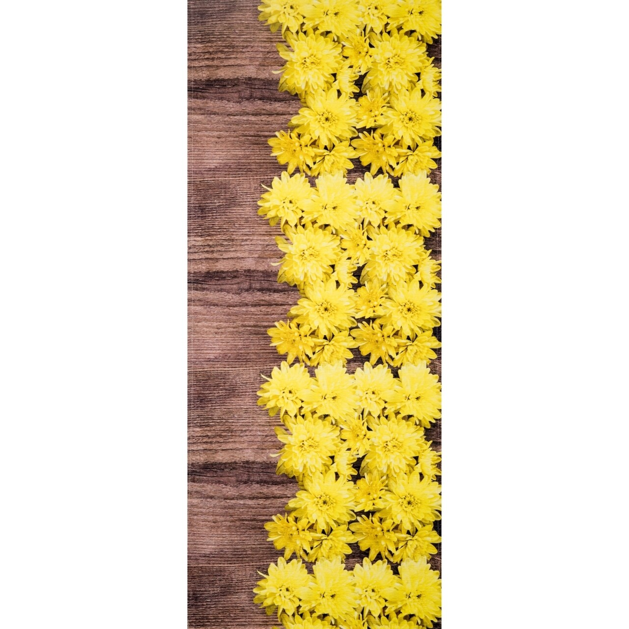Covor rezistent Webtappeti DALIE CM 58x190 cm, galben/maro