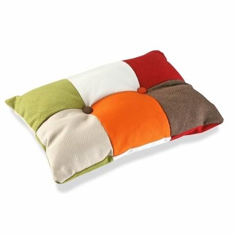 Pernă decorativă Patchwork Fun, multicolor