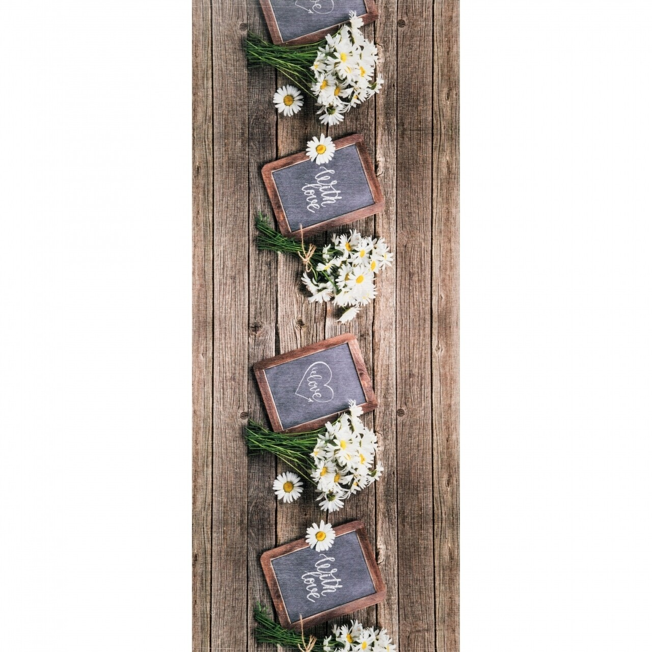 Covor rezistent Webtappeti Lavagna 58x190 cm, multicolor