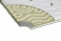 Topper saltea Confort Eucalyptus, Green Future, 160x190 cm
