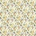 Fata de masa Bedora Fruta, 50% bumbac, 50% poliester, 140x280 cm, multicolor