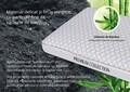 Perna Green Future Carbune Bambus Memory 40x60 cm