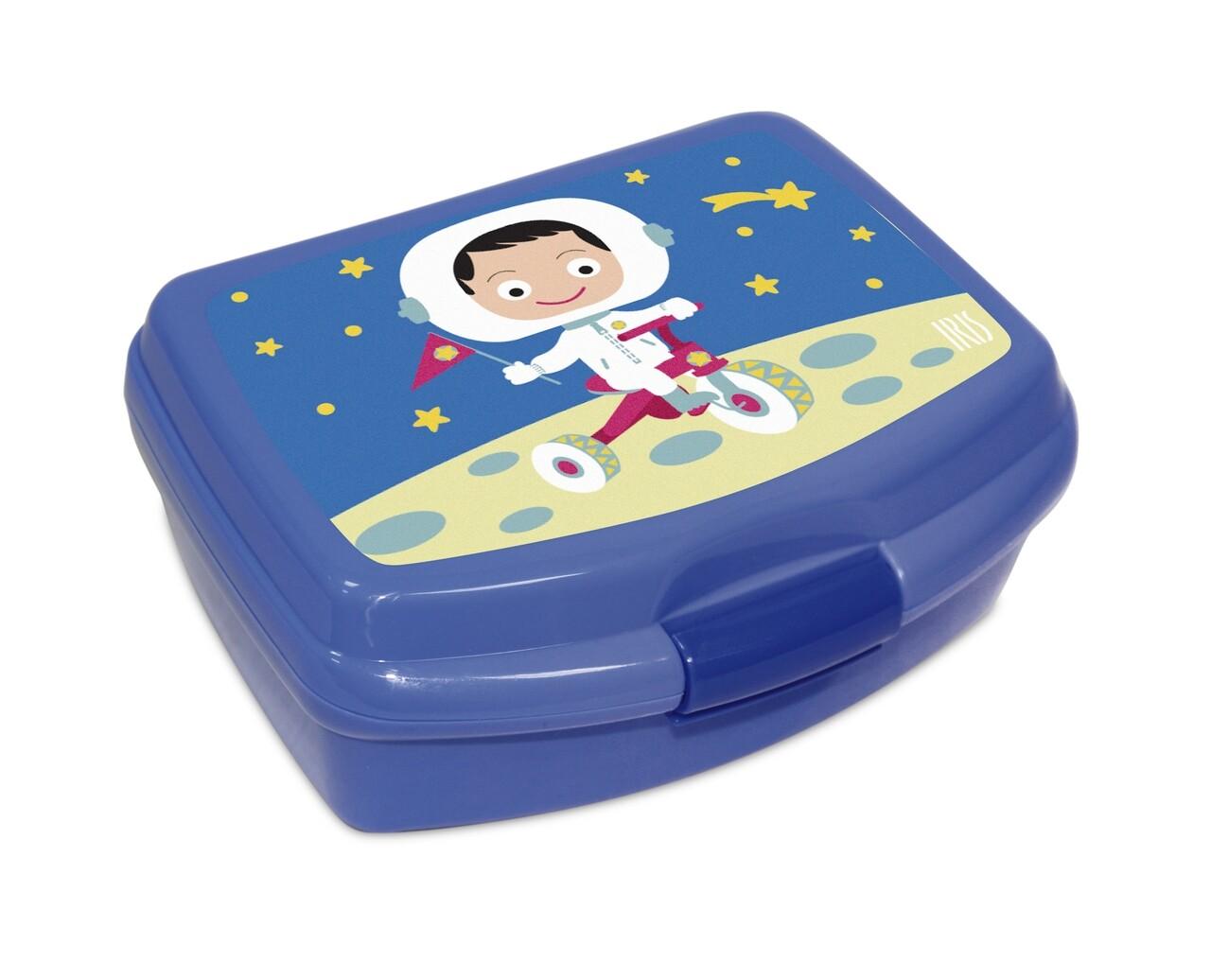 Cutie pranz pentru copii SnackRico, 550 ml, 16.8x13.5x6.5 cm, albastru