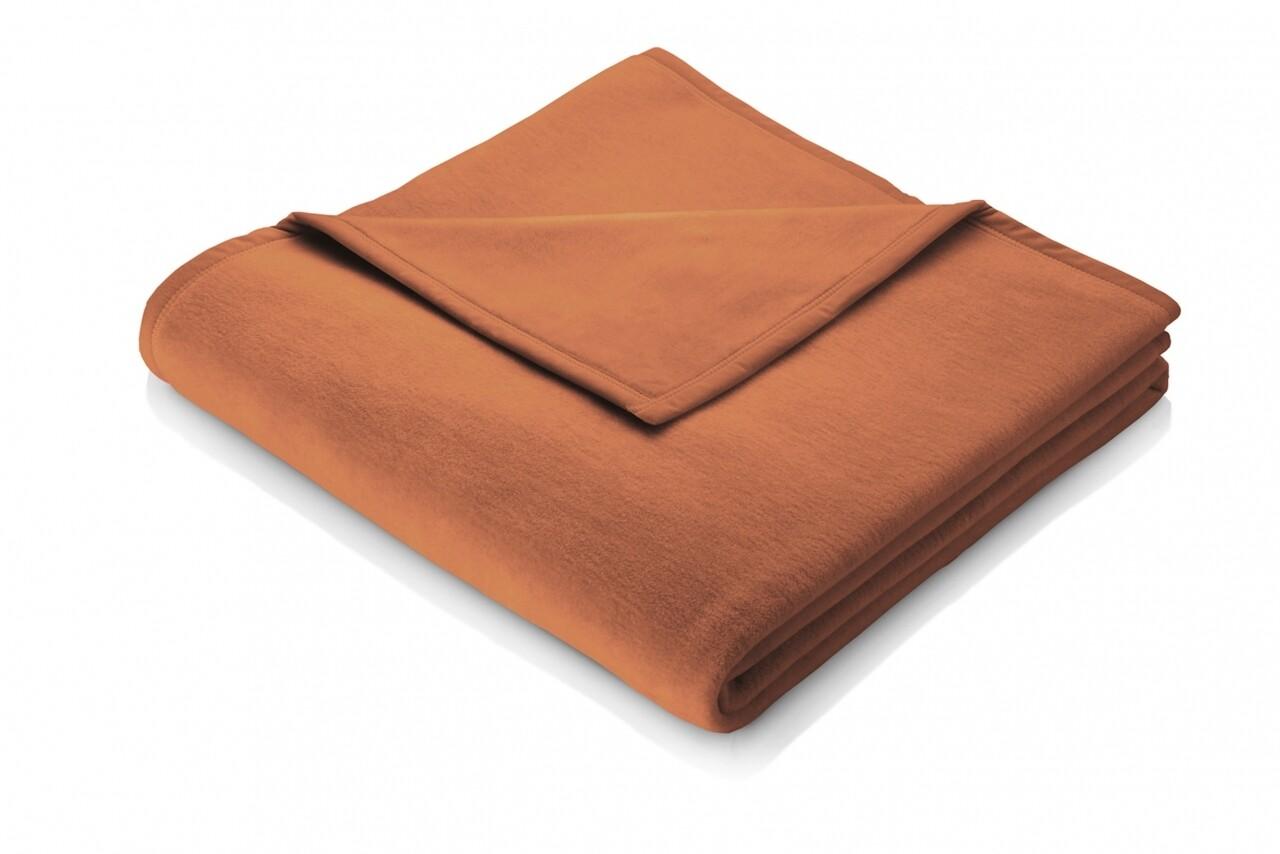 Patura Biederlack Modern Basic terra, 150x200 cm, Maro