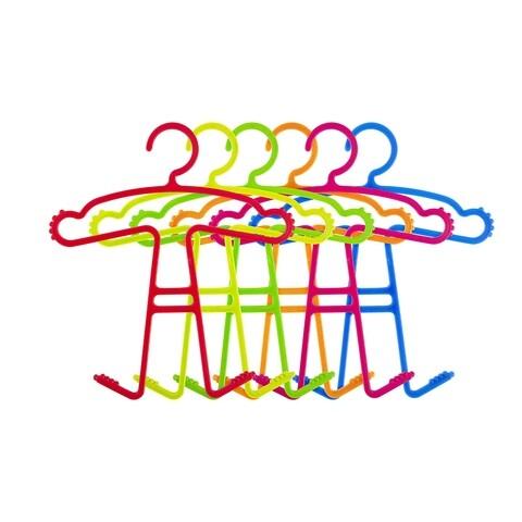 Set 6 umerase pentru copii, Casa Plastor, King, 37 x 32.5 x 5 cm, plastic, multicolor