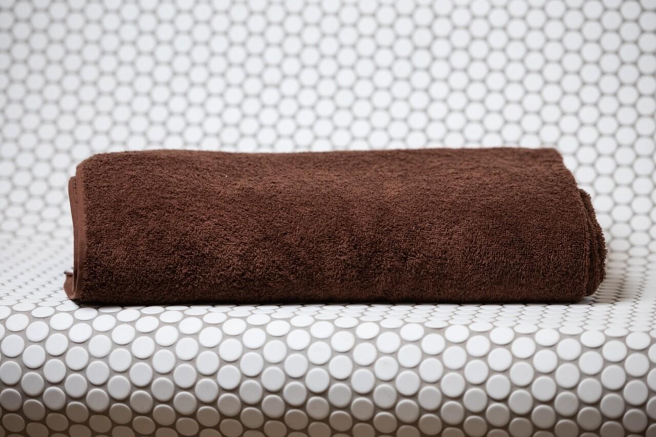Prosop pentru SPA, Boutique, 100 x 200 cm, 100% bumbac cardat, 400 gr/mp, maro