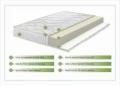 Saltea Aloe Vera 14+2 Memory, husa cu fibre de bambus cu efect antimicrobian, Super Ortopedica, aerisire 3D Free Air, 90 x 200 cm