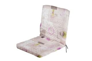 Perna scaun cu spatar, Alcam, Choco Lavanda, 90x44x3 cm