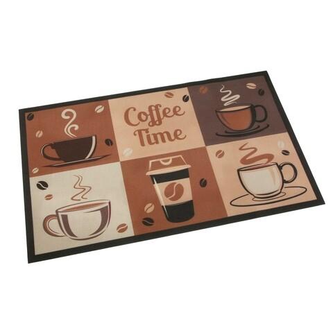 Covor pentru bucatarie Coffee Time, Versa, 50x80 cm, poliester
