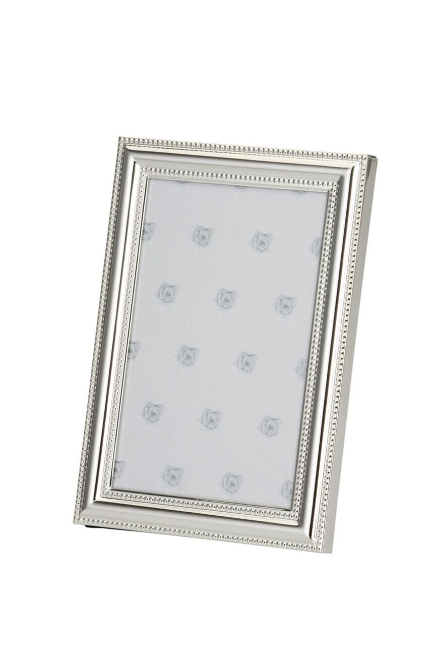 Rama foto Pearl Rim, Hermann Bauer, 10x15 cm, argintiu