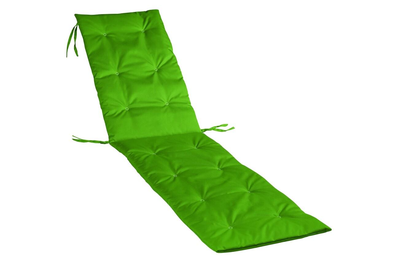 Perna sezlong Alcam, Midsummer, 195x50x3 cm, material impermeabil, Verde
