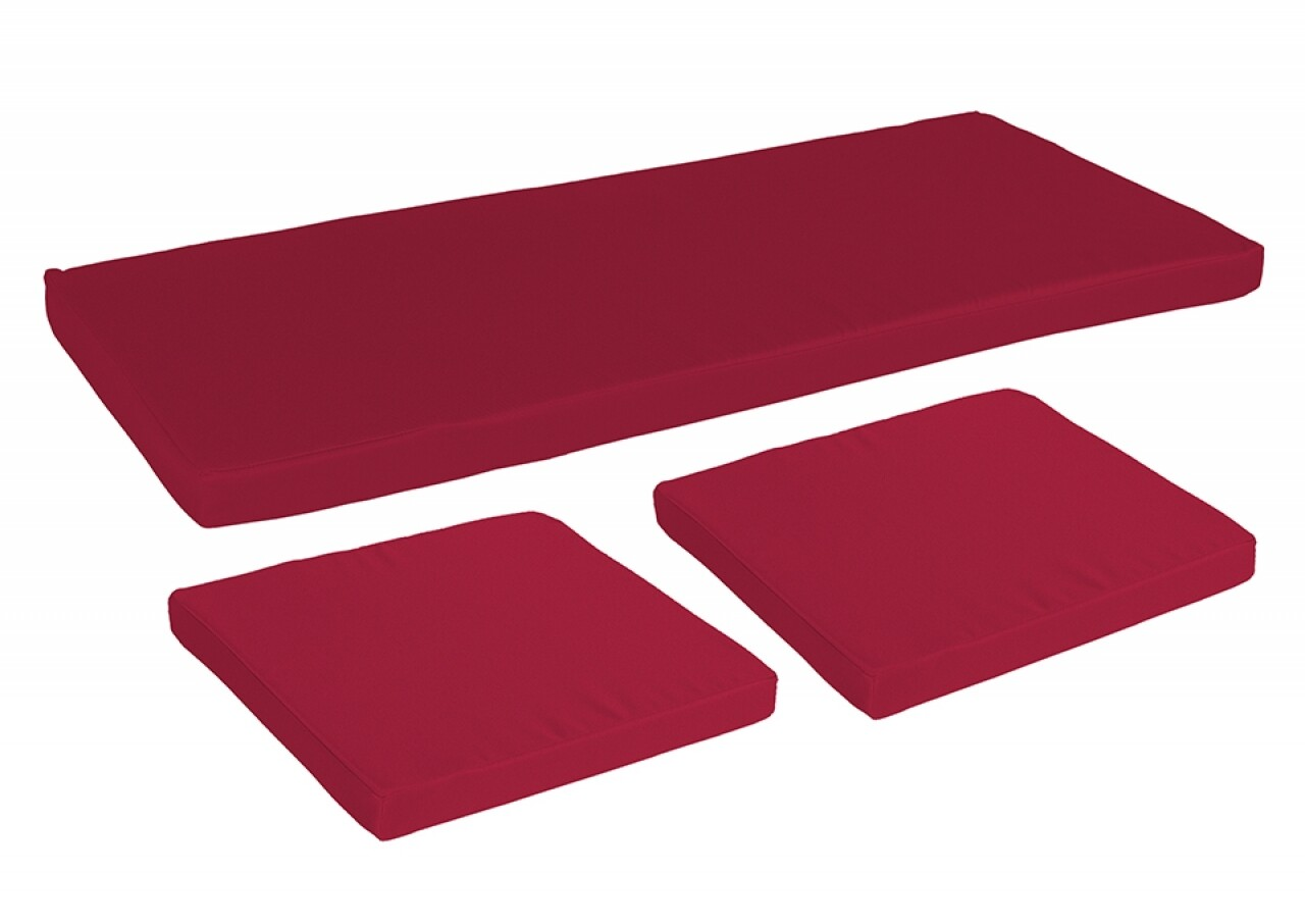 Set 3 Perne Bedora Summer Red