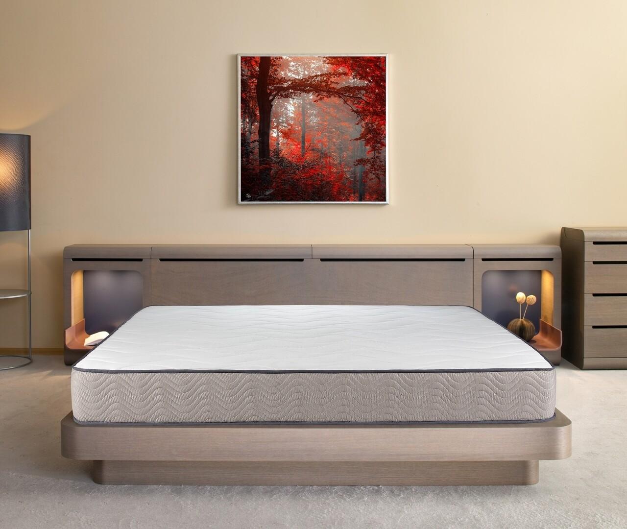 Saltea Bedora, Fresh Memory Grey Line, Ortopedica, Anatomica 160 x 200 cm