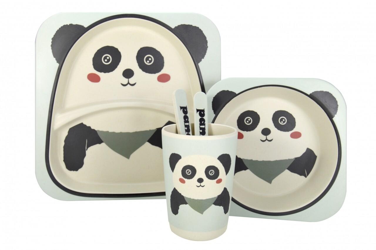 Set de masă pentru copii Panda
