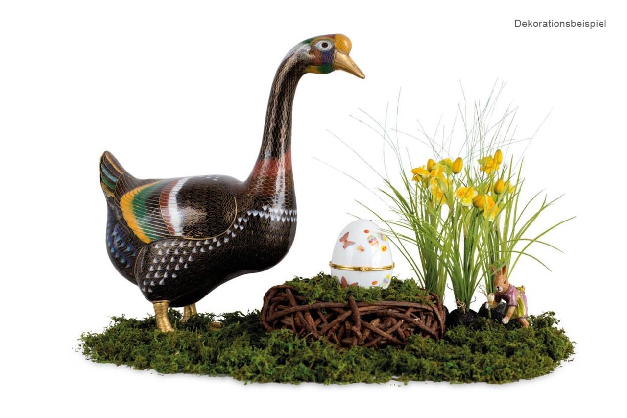 Cutie decorativa tip OU, Easter, Hermann Bauer, portelan