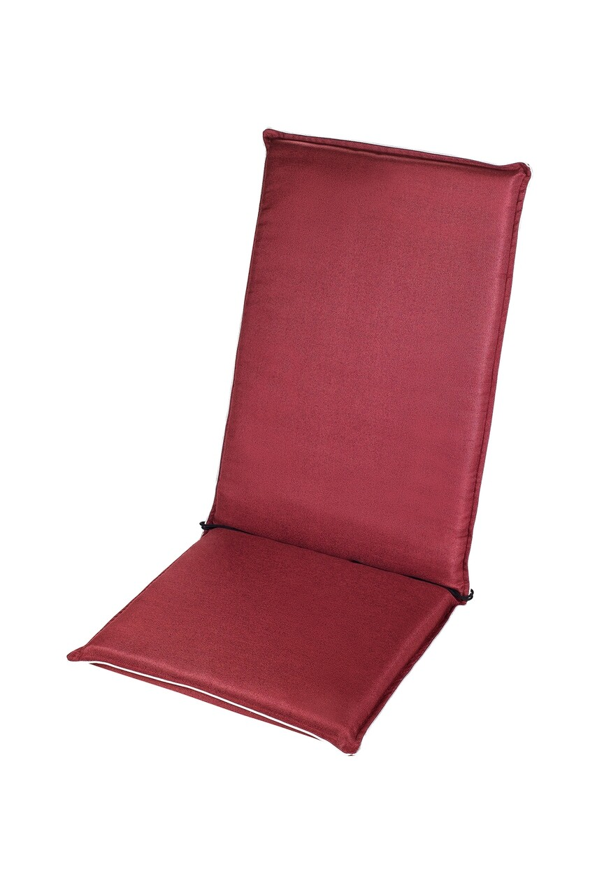 Perna scaun cu spatar, Alcam, De Luxe, Grena, 118x48x7 cm