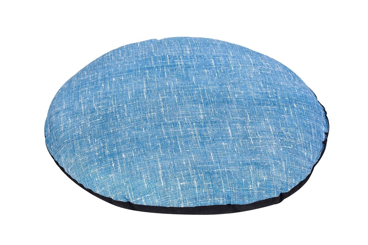 Perna scaun, Alcam, BlueBlack Ø36 cm