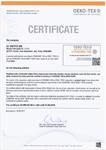 Certificare OEKO TEX 2017