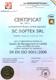 Certificare SR EN ISO 9001:2008